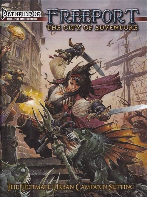 Pathfinder - FreePort the City of Adventure (B Grade) (Genbrug)