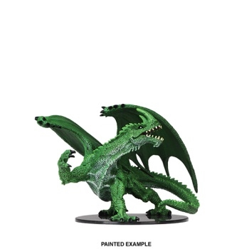 Pathfinder Battles - Deep Cuts - Gargantuan Green Dragon