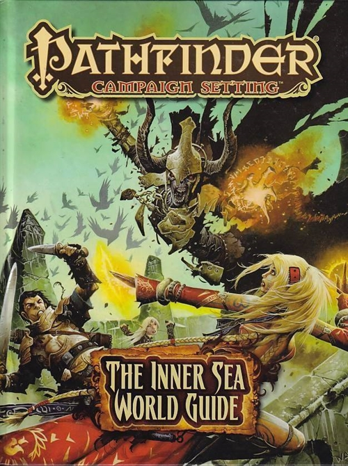 Pathfinder Campaign Setting The Inner Sea World Guide (Genbrug)