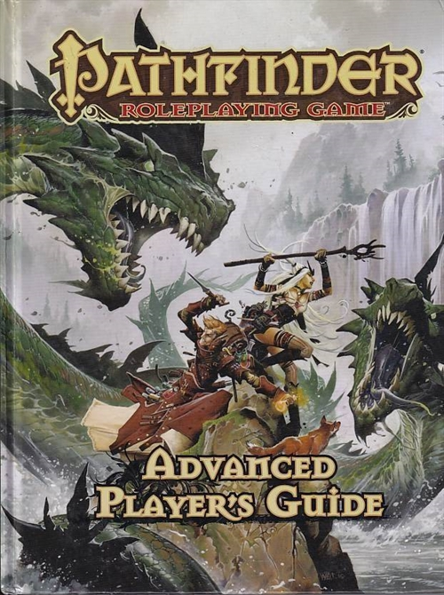Pathfinder Roleplaying Game Advanced Players Guide (Genbrug)