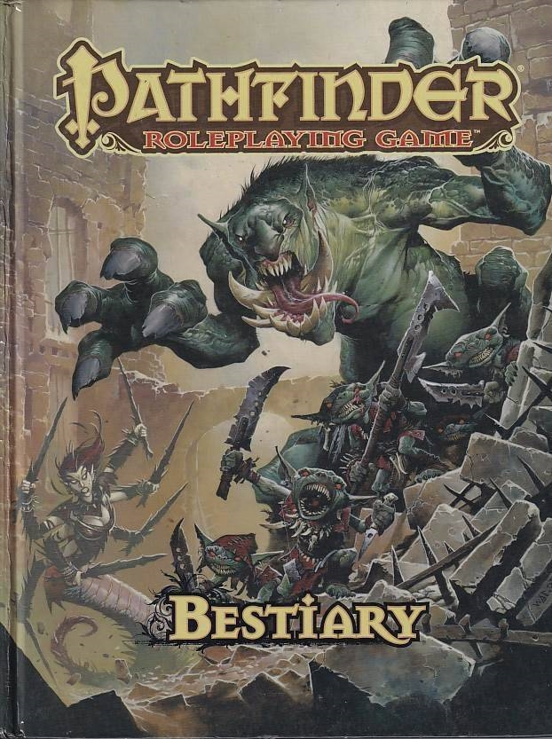 Pathfinder Roleplaying Game Bestiary (Genbrug)