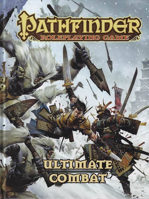 Pathfinder Roleplaying Game Ultimate Combat (Genbrug)