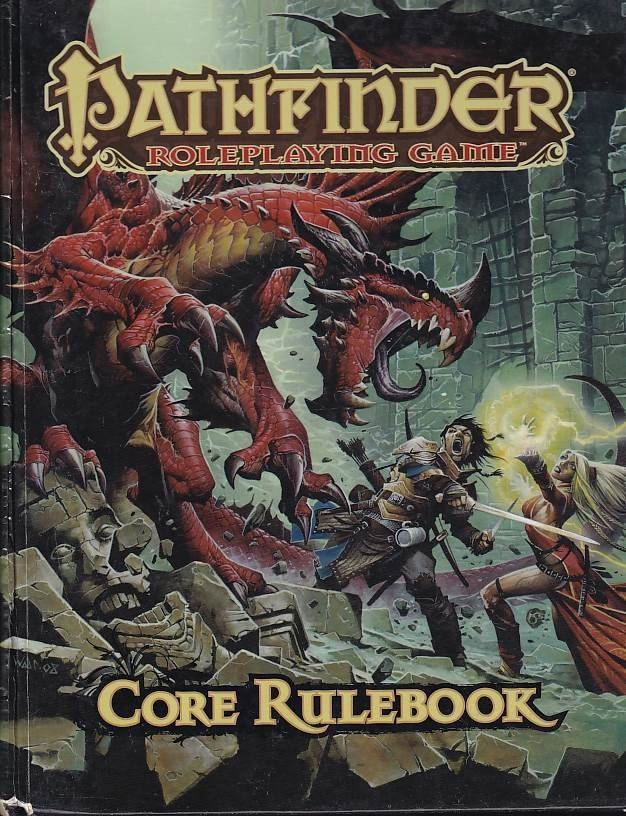 Pathfinder Roleplaying game Core Rulebook (Genbrug)