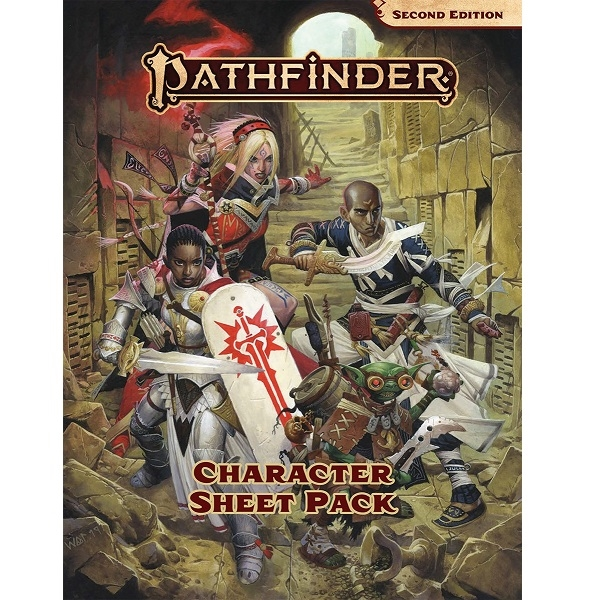 Pathfinder Second edition - Character Sheet Pack