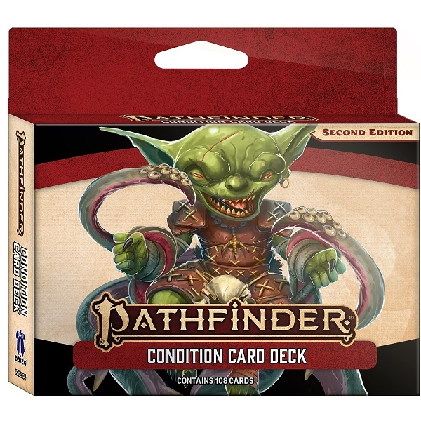 Pathfinder Second edition - Condition Card Deck