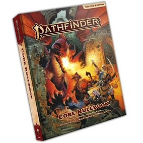 Pathfinder Second edition - Core Rulebook - Hardcover