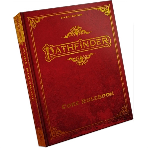 Pathfinder Second edition - Core Rulebook Deluxe - Hardcover