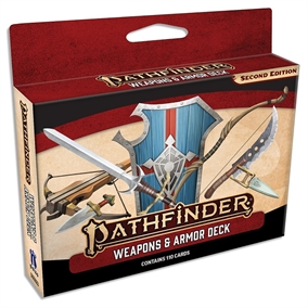 Pathfinder Second edition - Weapons & Armor Card Deck