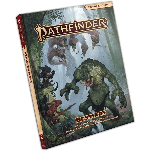 Pathfinder Second edition Bestiary - Hardcover