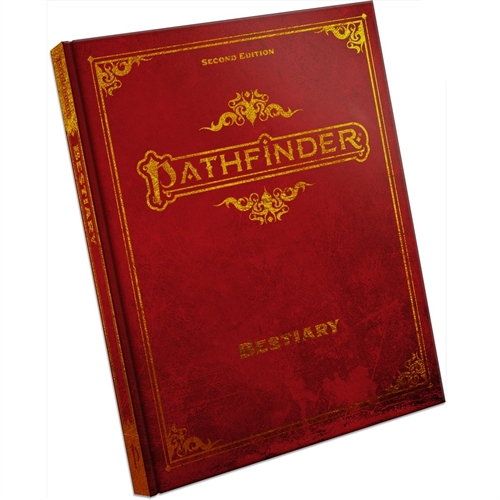 Pathfinder Second edition Bestiary Deluxe - Hardcover