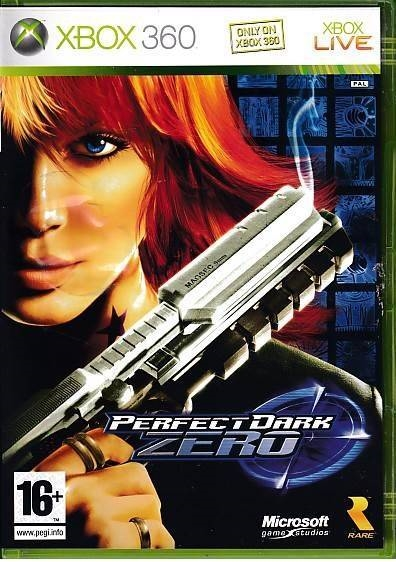 Perfect Dark Zero - XBOX 360 (B Grade) (Genbrug)