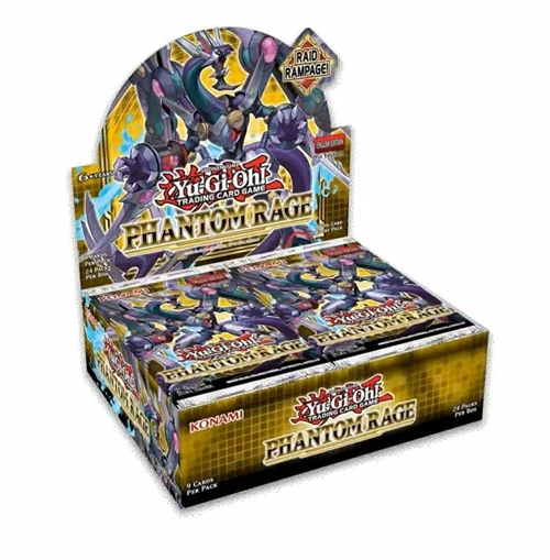 Phantom Rage - Booster Box Display (24 Booster Pakker) - Yu-Gi-Oh kort