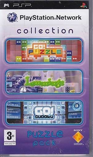 PlayStation Network Collection - Puzzle Pack - PSP Spil (Genbrug)