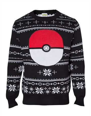 Pokemon - Pokeball - Strik Julesweater