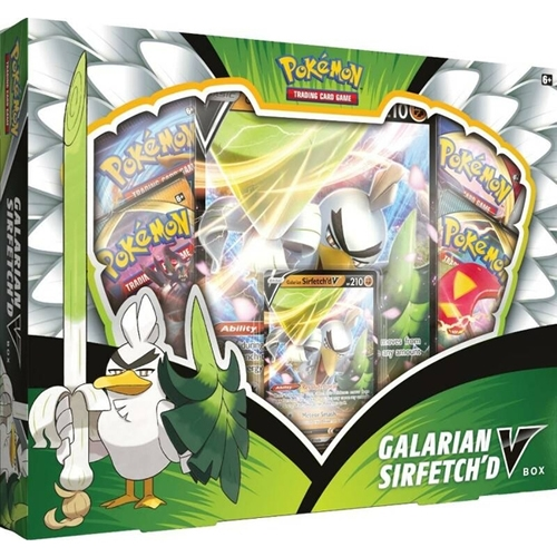Pokemon Kort - Galarian Sirfetch'd V Box