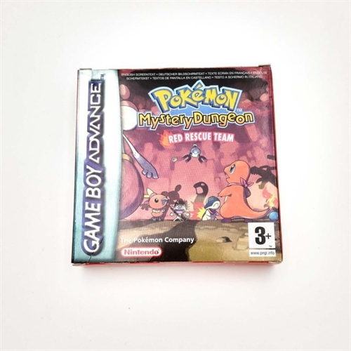 Pokemon Mystery Dungeon - Red Rescue Team  - Gameboy Advance - (I æske, mangler pap) (A Grade) (Genbrug) A2.jpg