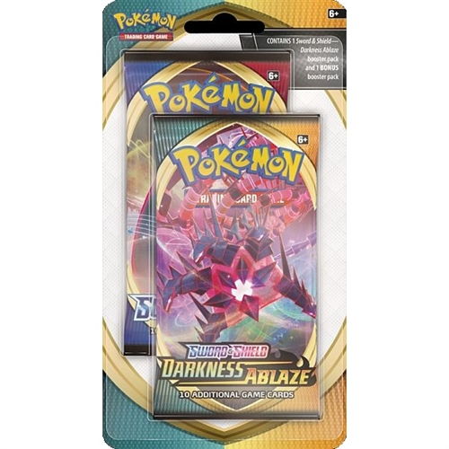 Pokemon Rebel Clash & Darkness Ablaze double booster Pakke - Pokemon kort
