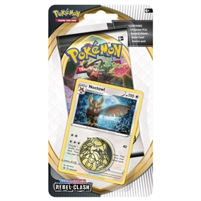 Pokemon Rebel Clash - Checklane Blister Noctowl - Pokemon kort