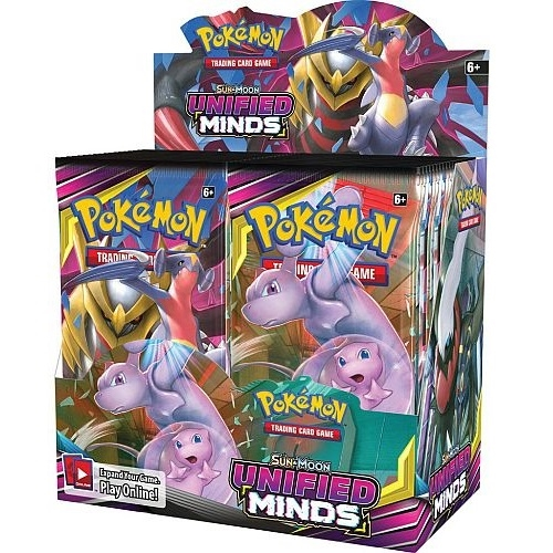 Pokemon Sun and moon 11 - Unified Minds - Booster Box Display (36 Booster pakker) - Pokemon kort
