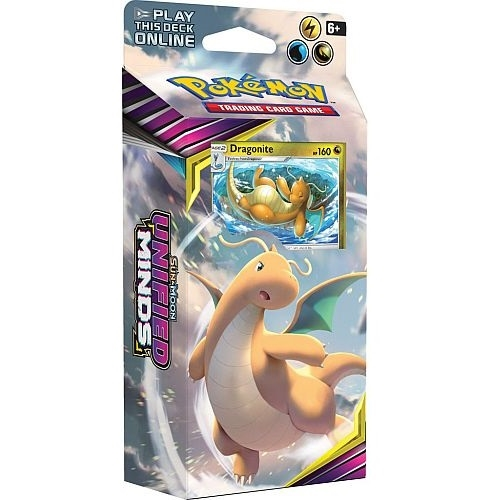 Pokemon Sun and moon 11 - Unified Minds - Theme Deck - Dragonite - Pokemon kort