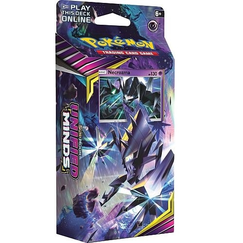 Pokemon Sun and moon 11 - Unified Minds - Theme Deck - Necrozma - Pokemon kort