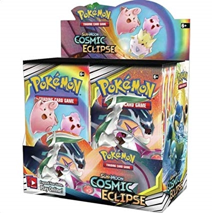 Pokemon Sun and moon 12 - Cosmic Eclipse - Booster Box Display (36 Booster pakker) - Pokemon kort
