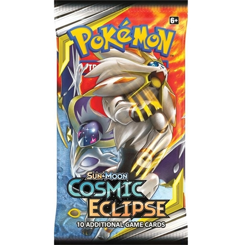 Pokemon Sun and moon 12 - Cosmic Eclipse - Booster Pakke - Pokemon kort