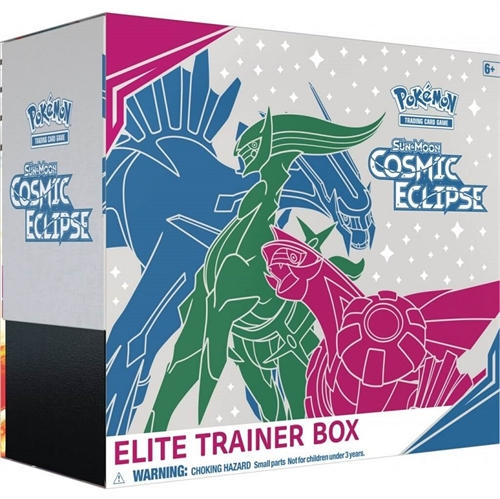 Pokemon Sun and moon 12 - Cosmic Eclipse - Elite Trainer box - Pokemon kort