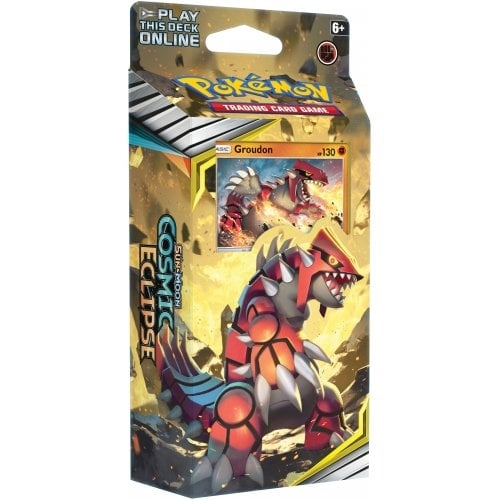Pokemon Sun and moon 12 - Cosmic Eclipse - Theme Deck - Groudon
