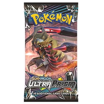 Pokemon Sun and moon 5 - Ultra Prism - Booster pakke