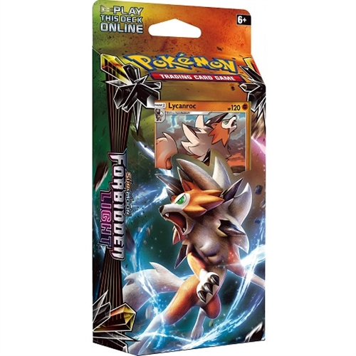 Pokemon Sun and moon 6 - Forbidden Light - Theme Deck Lycanroc