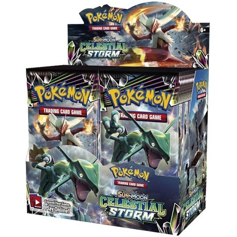 Pokemon Sun and moon 7 - Celestial Storm - Booster Box Display (36 Booster pakker) - Pokemon kort