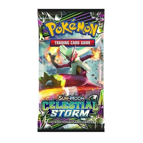Pokemon Sun and moon 7 - Celestial Storm - Booster Pakke
