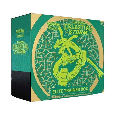 Pokemon Sun and moon 7 - Celestial Storm - Elite Trainer Box