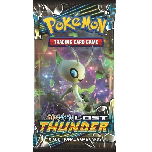 Pokemon Sun and moon 8 - Lost Thunder - Booster Pakke - Pokemon kort
