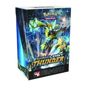 Pokemon Sun and moon 8 - Lost Thunder - Prerelease Box - Pokemon kort