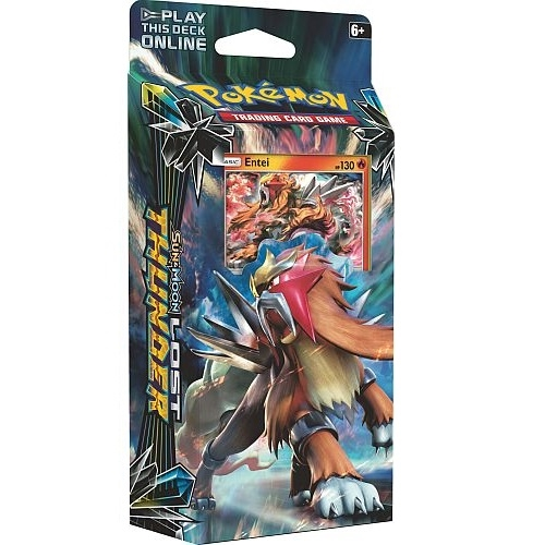 Pokemon Sun and moon 8 - Lost Thunder - Theme Deck - Blazing Volcano - Pokemon kort