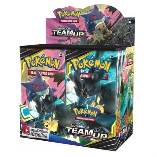 Pokemon Sun and moon 9 - Team Up - Booster Box Display (36 Booster pakker) - Pokemon kort