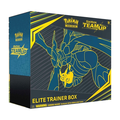 Pokemon Sun and moon 9 - Team Up - Elite Trainer box - Pokemon kort