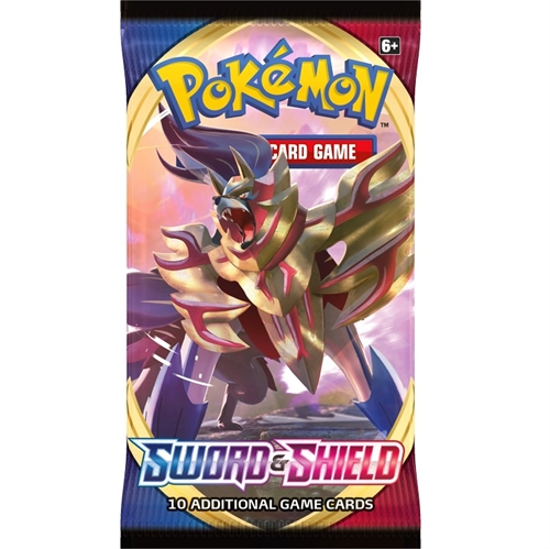 Pokemon Sword & Shield - Booster Pakke - Pokemon kort