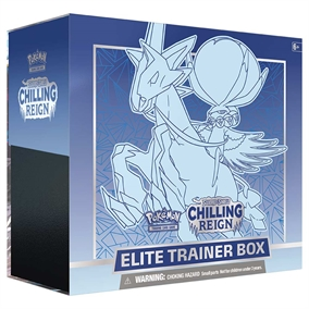 Pokemon Sword & Shield - Chilling Reign - Elite Trainer box Blå - Pokemon kort