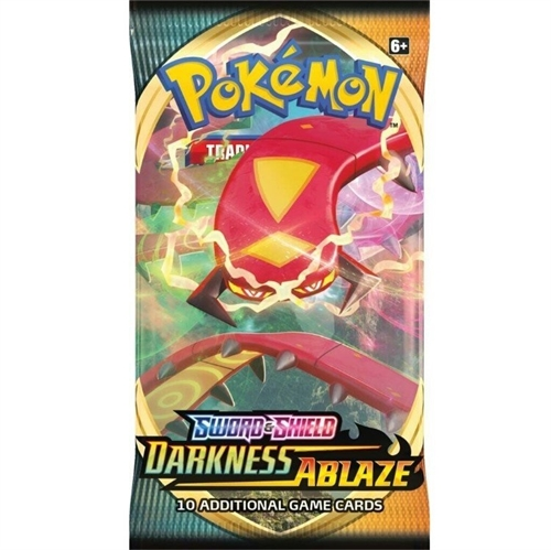 Pokemon Sword & Shield - Darkness Ablaze - Booster Pakke - Pokemon kort