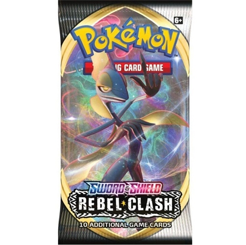Pokemon Sword & Shield - Rebel Clash - Booster Pakke - Pokemon kort