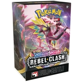 Pokemon Sword & Shield - Rebel Clash - Prerelease Box - Pokemon kort