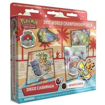 Pokemon kort - 2017 World Championship Deck - Diago Cassiraga - Infinite Force