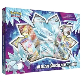 Pokemon kort - Alolan Sandslash-GX Box