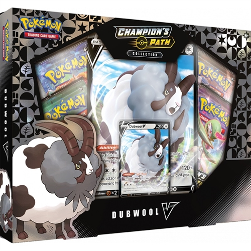 Pokemon kort - Champion's Path - Dubwool V Box