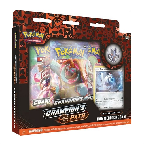 Pokemon kort - Champion's Path - Pin Collection - Hammerlocke Gym