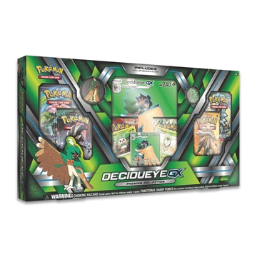 Pokemon kort - Decidueye-GX - Premium Collection Box