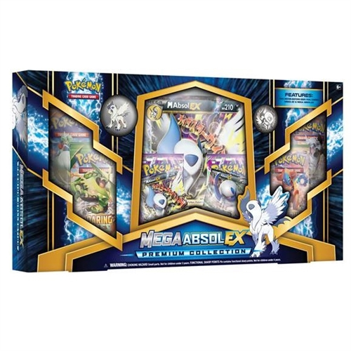 Pokemon kort - Mega Absol-EX Premium Collection